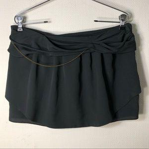 IRO black mini skirt XS/1